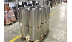 Rouleaux en tôle d'aluminium