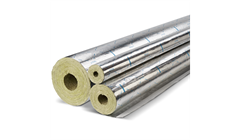 Steinwolle-Rohrschale Rockwool Teclit PS Cold
